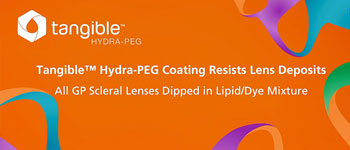 Tangible Hydra-PEG repels deposits
