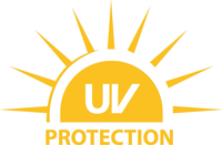 UV protected contact lenses