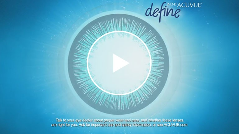 1-DAY ACUVUE DEFINE Brand Contact Lenses - Official TV Commercial