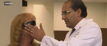 Blind Colorado Mother Tears Up After Seeing Son for '1st Time in Years' With New Bionic Eye