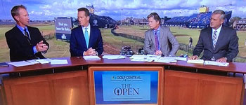"""Golfer Dave Duval Testimonial from """"The Open"""" in GreatBritain"""
