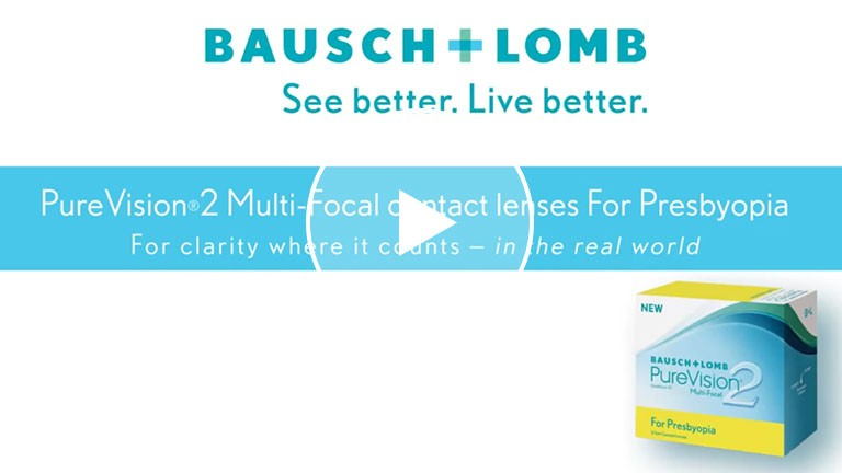 Bausch + Lomb PureVision2 For Presbyopia - Lens Design