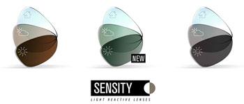 Hoya Sensity photochromic lenses adapt to all light conditions