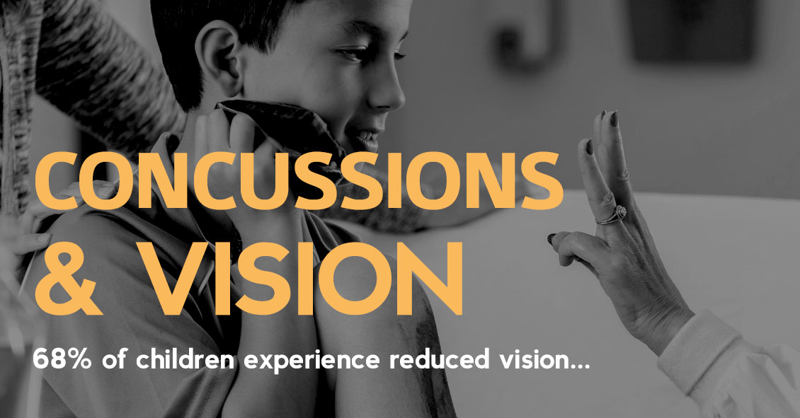 Vision Problems Can Happen After A Concussion