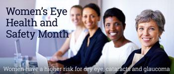 2017 April Women's Eye Health month