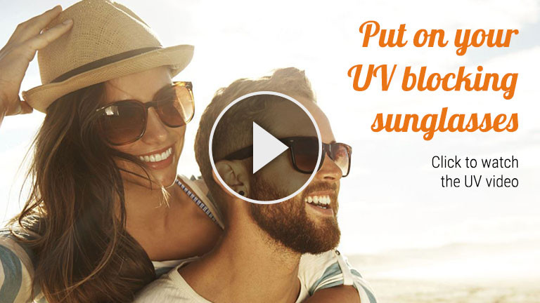 Protect your eyes from the sun's harmful UV rays