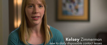 Kelsey Zimmerman-contact lens wearer