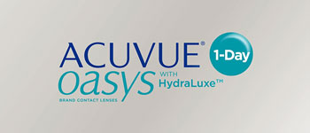 OASYS 1-Day with HydraLuxe Technology is the daily lens for demanding days