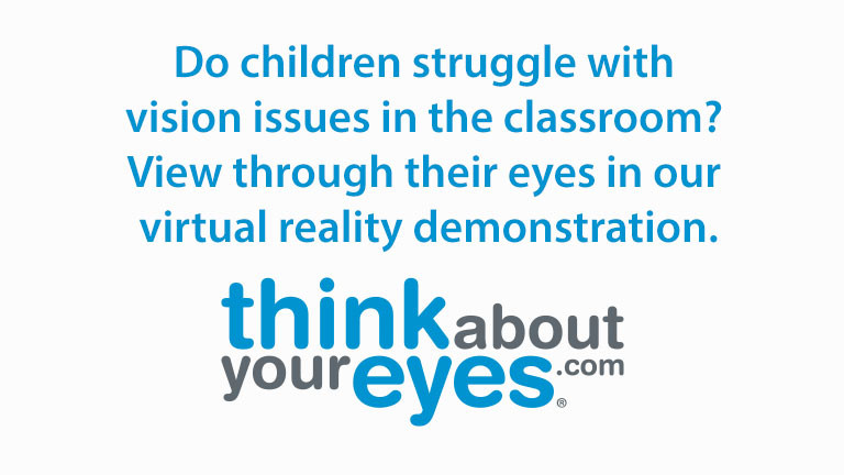 Experience What It's Like to Live With Poor Vision in a Classroom