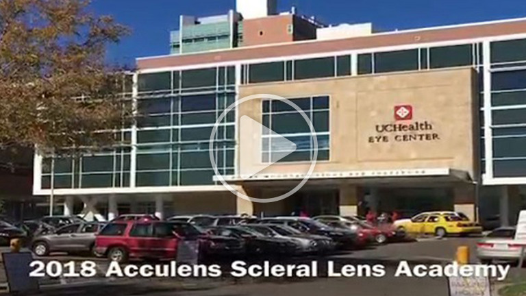 2018 AccuLens Scleral Lens Academy