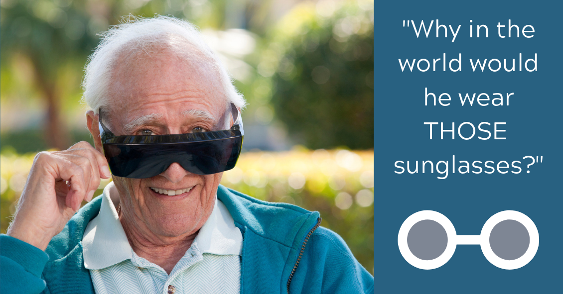 Why Do People Wear Those Big Sunglasses After Cataract Surgery?
