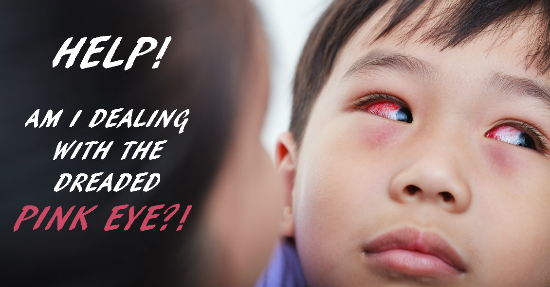 Every Pink Eye Is NOT 'Pink Eye'