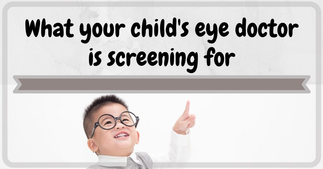 Why Get an Early Eye Exam for Your Young Child?
