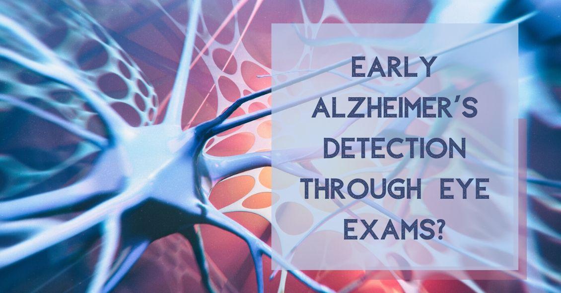 Detecting Alzheimer's though an Eye Exam?