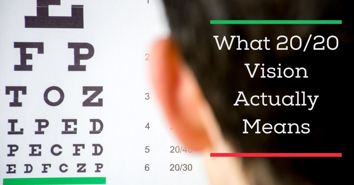 What 20/20 Vision Actually Means