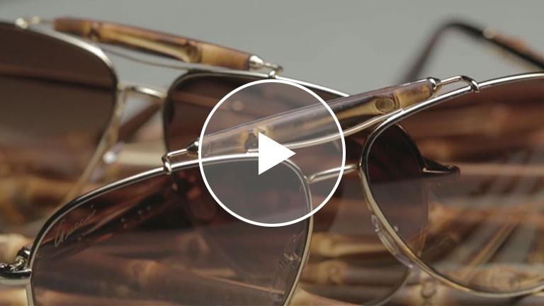 Gucci Presents- Bamboo Sunglasses