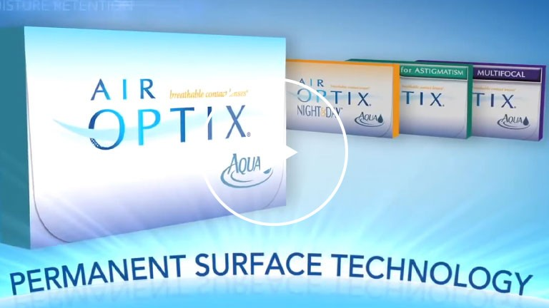 AIR OPTIX AQUA Contacts by Alcon